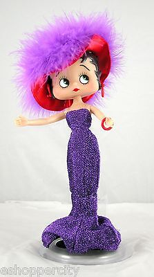 "Betty Boop 10"" Doll w/ Red Hat Lady Collectible New Real  Licensed product"
