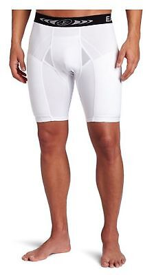 Easton Mens Extra Protective Sliding Shorts Softball Compression White (Extra Protective Sliding Short)
