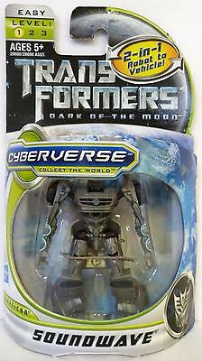 Soundwave Transformers 3 Dotm Movie Legion Class 3 Inch Decepticon Figure 2011