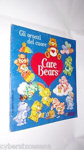 GLI-ORSETTI-del-CUORE-care-bears-album-figurine-panini-1986