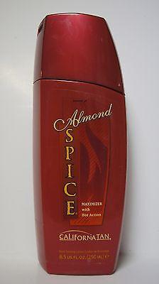 Hot Tan Maximizer (NEW California Tan Almond Spice Maximizer Level 5 Hot Action Deep Dark Tanning)