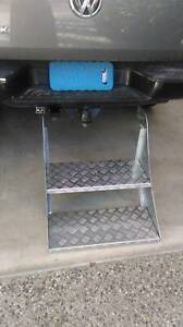 CAMPER TRAILER STEPS - HEAVY DUTY ZINC PLATED