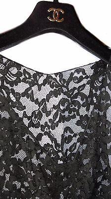 Rarissime robe en dentelle de calais signée chanel sample v.i.p - intemporel