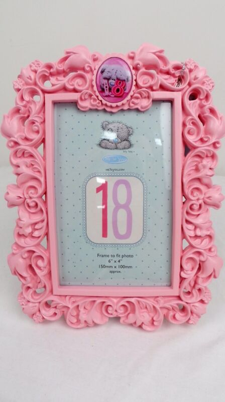 Carte Blanche- Me to You Tatty Teddy Bear- 18th Birthday Photo Frame ...