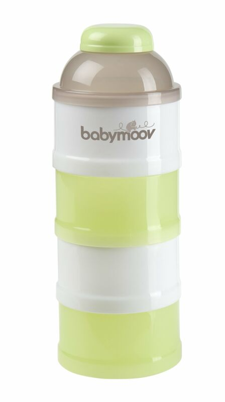 Babymoov Baby Formula Dispenser - 4 Stackable Compartments