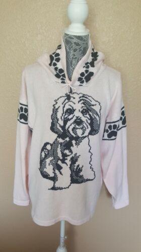 Custom Knit Maltipoo Dog Sweater for people