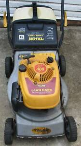 4 STROKE LAWNMOWER.SERVICED.WITH CATCHER!