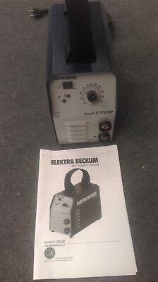 Schweissgerät Elektra Beckum Invert E 170 SIP WIG/ TIG NEU!