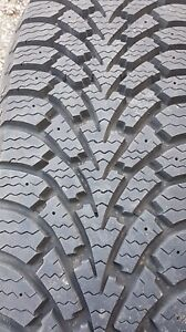 Goodyear Winter Tires  225/65R17 w/ Steel rims Almost New!