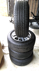 ROH Alloy Wheels and Tyres From Toyota Celica McLaren Vale Morphett Vale Area Preview