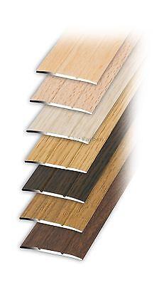 Übergangsschiene Übergangsprofil SK 1mx3,8cm Alu mit Holzdekor Bodenprofil