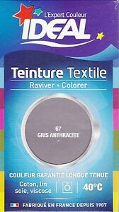 Teinture ideal grand teint liquide 40 ml avec fixateur - Teinture textile ideal ...