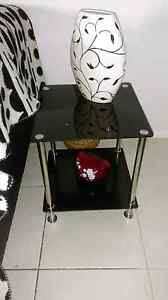 Coffee table black glass Helensvale Gold Coast North Preview