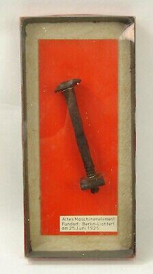 #2275 - Antikes Fundstück Berlin Lichterfeld - Maschinenelement (Schloßschraube) gebraucht kaufen  Ginsheim-Gustavsburg