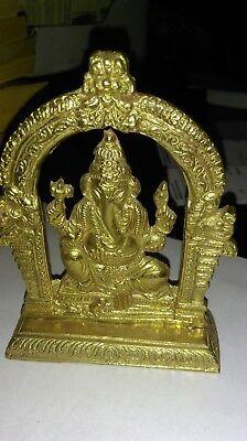 brass elephant shrine statue B-5