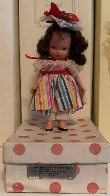 Vintage Nancy Ann Storybook Bisque Doll Alice Sweet Alice #122 Jointed Legs