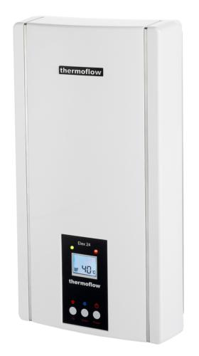 Durchlauferhitzer Elektronisch 24 Kw ELEX 24 Boiler Durchlauferhitzer thermoflow