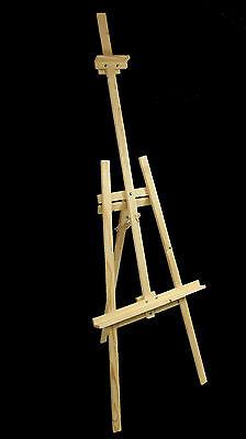 STANDSTAFFELEI Staffelei Atelierstaffelei Dreifuss aus Holz 175 cm für Maler