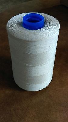 Natural cotton thread 6000yard cones