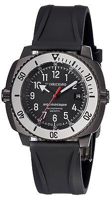 JeanRichard Aquascope Diving Mens watch 60140-11-611zac6d Brand New in Box!