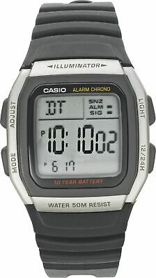 Casio Men's Power LCD Digital Watch - Black.