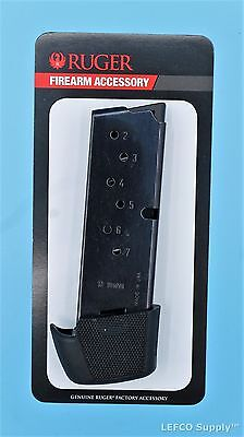 Ruger Lc9 Lc9s Extended Magazine 9 Round Rd 9Mm Genuine Oem Clip Mag 90404 New