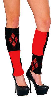 Harley Quinn Leg Warmers Batman Character Rubies 38025