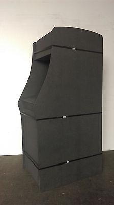 Arcade Retro Videospielautomat Gehäuse Bausatz schwarz