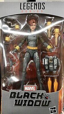 NEW 2020 Marvel Legends Black Widow Grey Suit Action Figure Walmart Exclusive