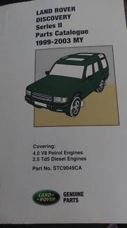 LAND ROVER DISCOVERY SERIES III PARTS CATALOGUE Hendon Charles Sturt Area Preview