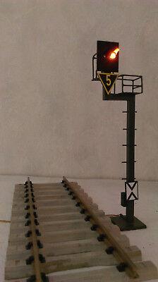 Spur G / Spur 2  Lichtsignal  /  Ks-System DB AG  /  HSB  / Vorsignal