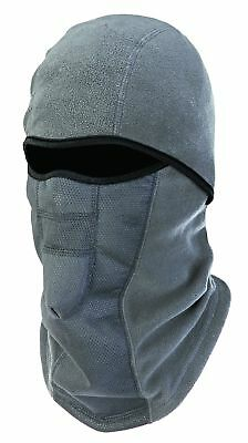 N-Ferno 6823 Thermal Fleece Wind-Resistant Hinged Balaclava, Gray