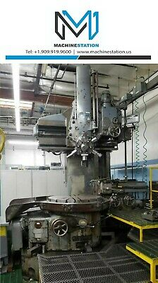 Berthiez Ig-9320 36 Vertical Boring Turning Vtl Lathe - Bullard King Betts Om