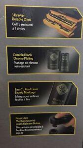 Stanley Professional Grade 235 pc black chrome mechanic tool set