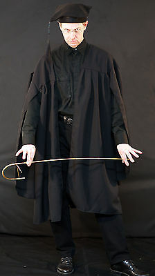 Victorian/Edwardian SCHOOL MASTER-Mr chips - TEACHERS GOWN & HAT All - School Master Kostüm