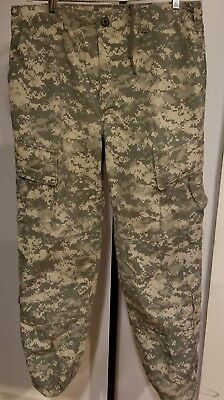 US Military ACU Digital Insect  Repelent Fatigue Pants (Size: Medium - Regular)