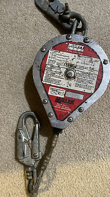 Miller Rl20g Mighty Lite Self Retracting Lifeline 316 Galvanized Steel Cable