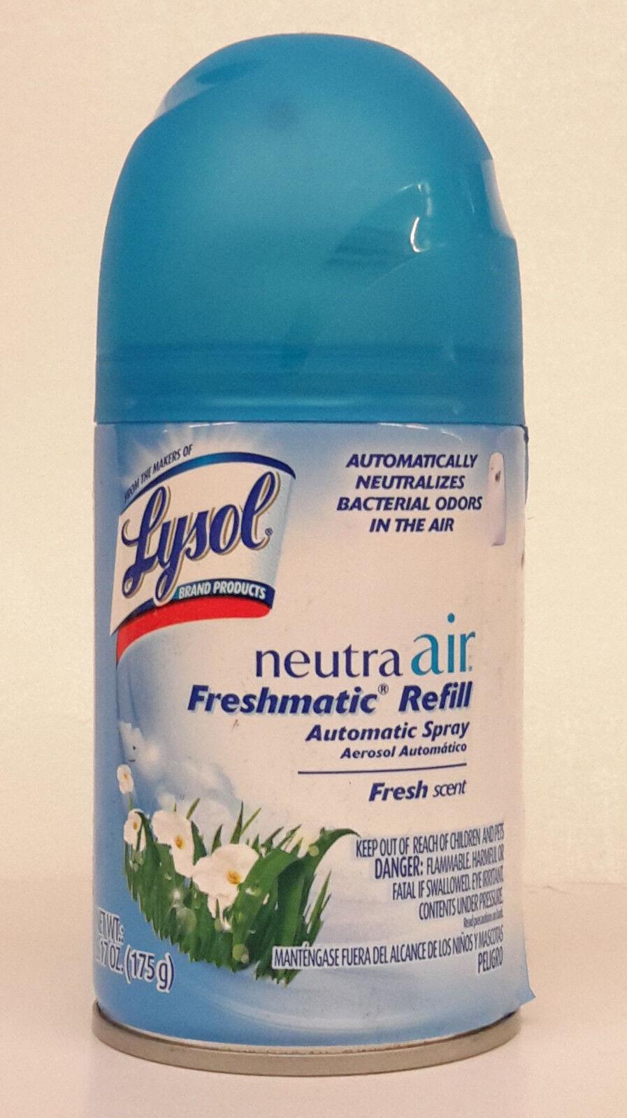 1 Lysol FRESH Neutra Air Freshmatic Refil Automaticaly Neutr