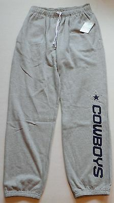 (DALLAS COWBOYS AUTHENTIC APPAREL MEN'S SWEATPANTS M L XL GRAY NWT COTTON BLEND)