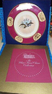 James Monroe White House Collector Plate Castleton China Replica Ltd Ed