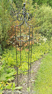 Heavy Duty Handcrafted 1.4m Wharfe Garden Obelisk- Climbing Plant Support