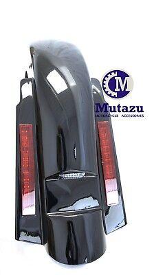 Mutazu LED Rear Fender Stretched Extended for Harley Davidson Touring 97-2008