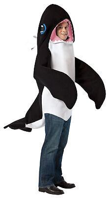 Whale Mascot Costume (Killer Whale Adult Costume Mascot Fish Ocean Sea Animal Halloween Rasta)