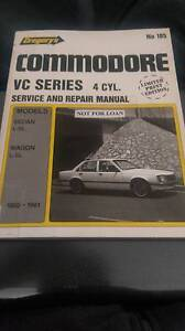 HOLDEN VC COMMODORE 4 CYL WORKSHOP MANUAL Hendon Charles Sturt Area Preview