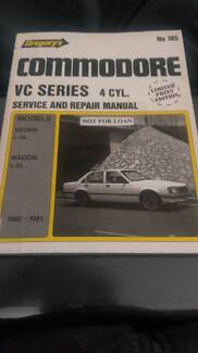 HOLDEN VC COMMODORE 4 CYL WORKSHOP MANUAL