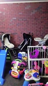 Beema 3 wheeler pram, stroller and toys Fulham Gardens Charles Sturt Area Preview