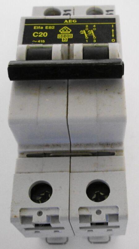 AEG  Elfa E82 C20 Circuit Breaker