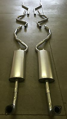1957 FORD CONVERTIBLE DUAL EXHAUST SYSTEM, ALUMINIZED