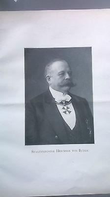 1906 36n Nachruf Herrmann von Budde aus Bensberg
