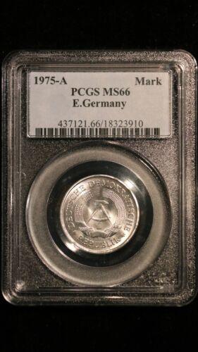 1975-A E.Germany PCGS MS 66 RB Mark